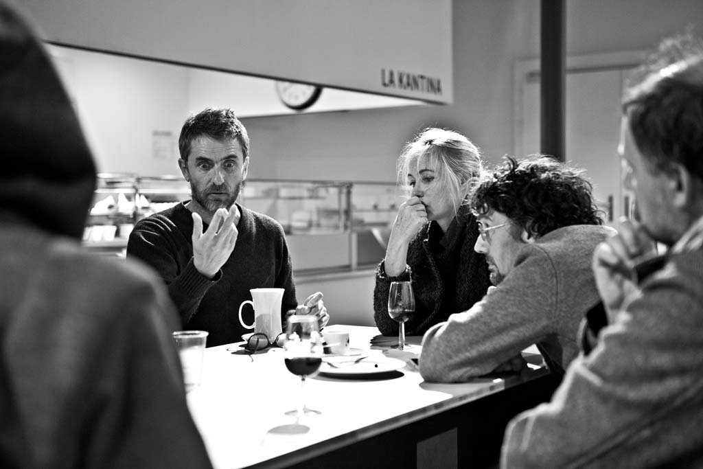 Pascal Rambert, Emmanuelle Béart et Stanislas Nordey