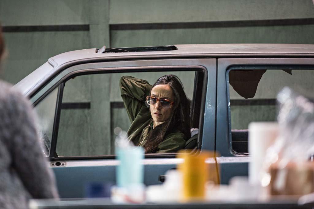 """Audrey Bonnet dans """"Le Pays lointain"""" de Jean-Luc Lagarce mis en scène par Clément Hervieu-Léger (septembre 2017)"""