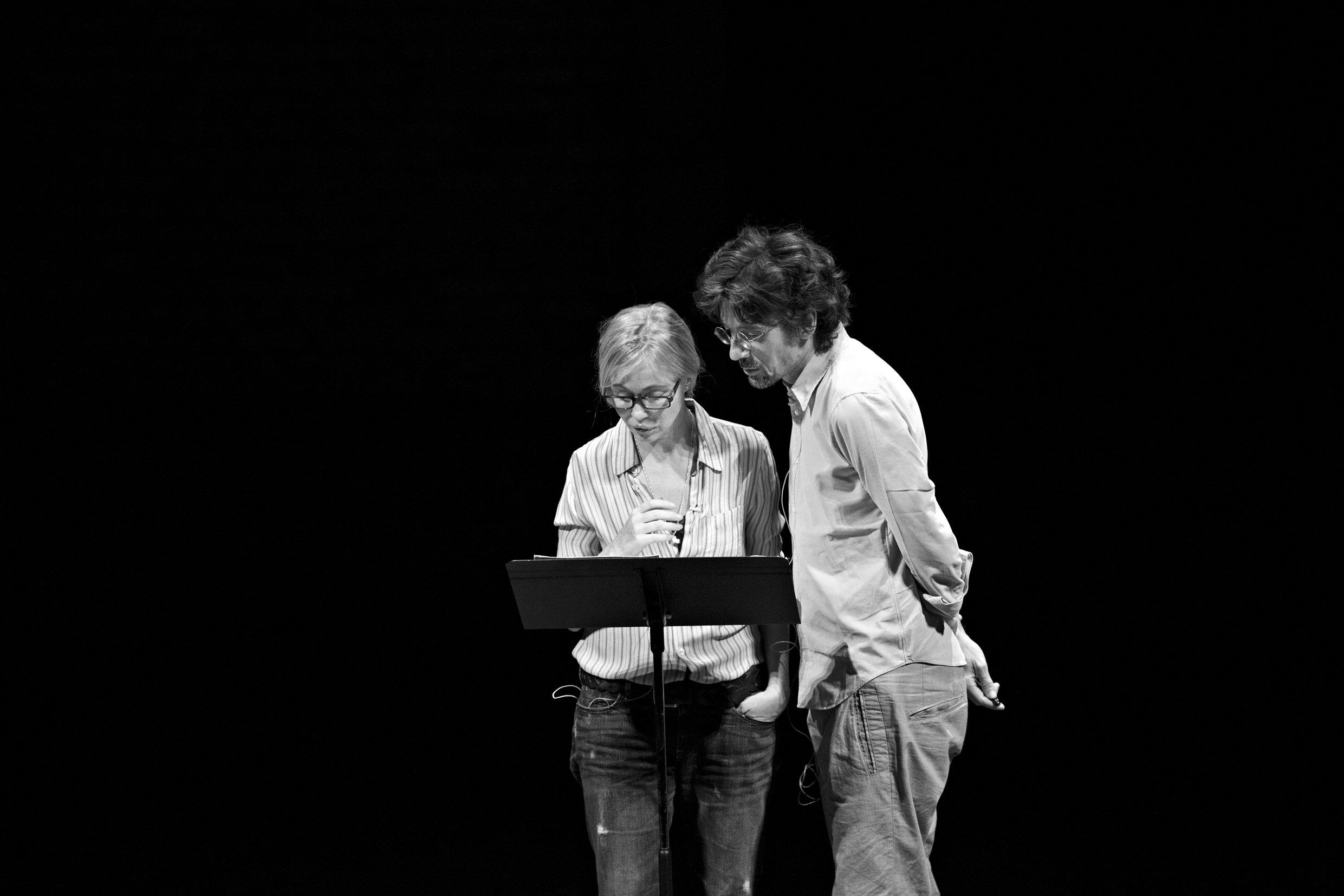 Emmanuelle Béart et Stanislas Nordey